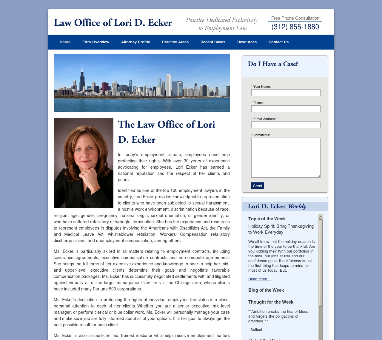 Law Office of Lori D. Ecker